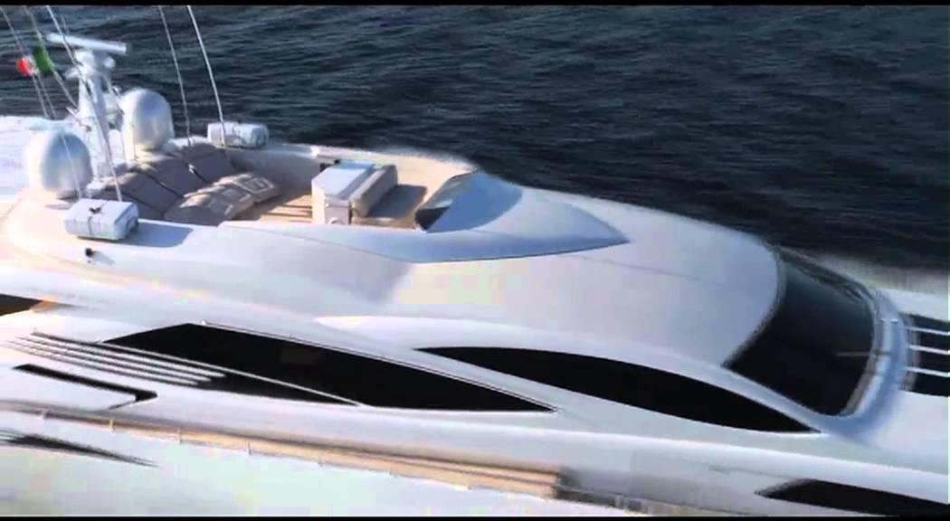 Luxury Yacht Pershing 115 YouTube