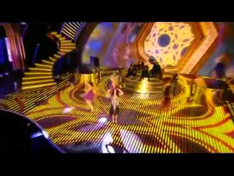 "Tulisa Contostavlos performs her new single ""Young"" on Britains Got Talent 2012"