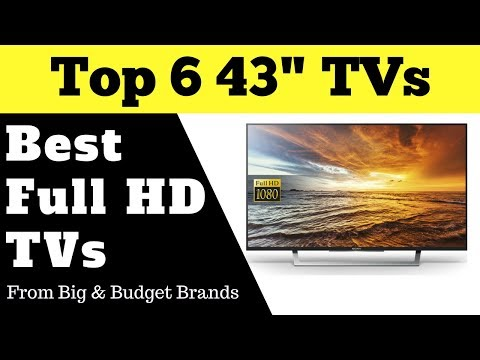 Top 6 Best Budget 43 Inches FHD TVs | Review