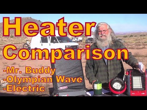 Heater review for Nomads and #Vanlife