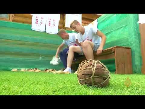 هذا الصباح-القرويون الروس يحتفلون بكأس العالم بأحذية نباتية  - نشر قبل 4 ساعة