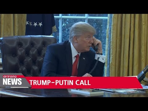 Trump, Putin hold phone talks on North Korea