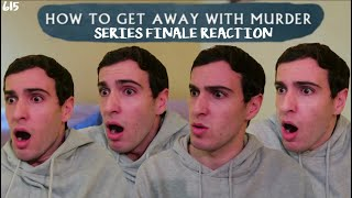 HOW TO GET AWAY WITH MURDER SERIES FINALE REACTION & REVIEW // 615 'Stay'