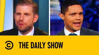Trevor Noah Roasts The Trump Family | The Daily Show With Trevor Noah