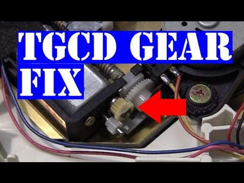 TurboGrafx-16 PC Engine cd-rom stock gear replacement