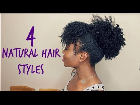 how style natural hair 4 hair stretched styles 6783 | hqdefault