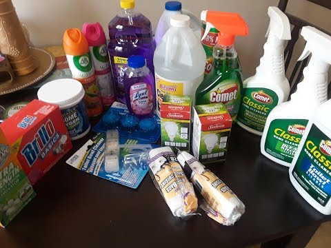 DOLLAR TREE CLEANING PRODUCTS HAUL *NEW ITEMS*