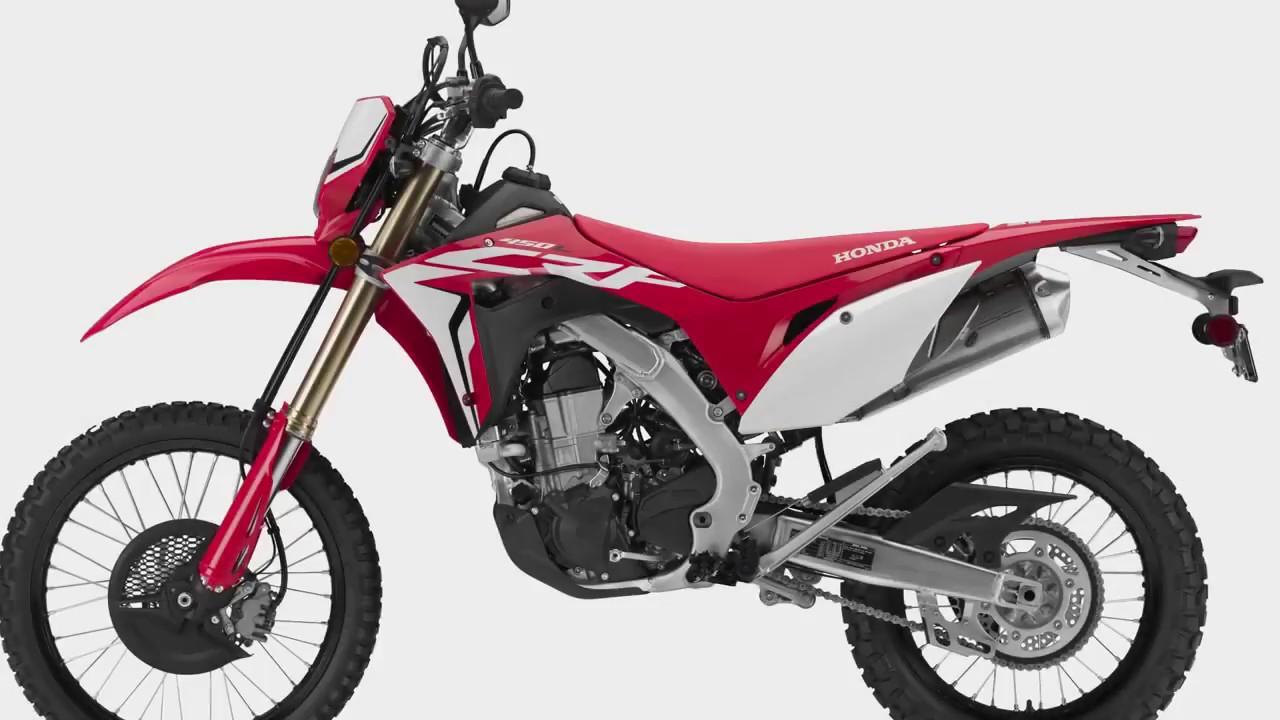 Honda Crf 450 L 2019 Youtube