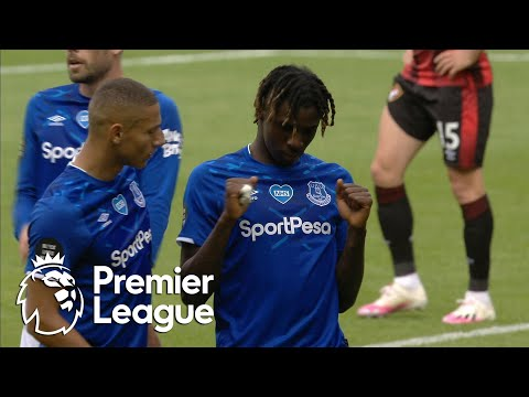 Moise Kean Mastering Scouse Andre Gomes Rehab Continues Rondo Skills Everton In Training Youtube