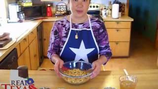 Real Texas Wild Rice Stuffed Acorn Squash Part 2 Of 5