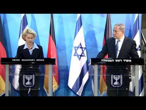 PM Netanyahu Meets German Defense Minister Dr. Ursula von der Leyen