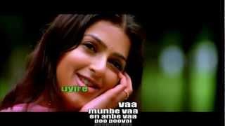 Munbe vaa (lyrics) - AR Rahman