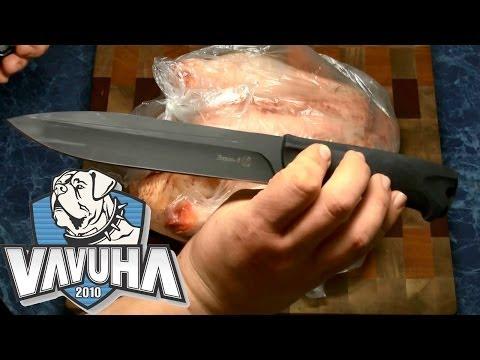 Нож Кизляр Ворон 3. Три ворона против одной курицы.