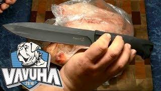 нож Кизляр Ворон 3. Три ворона против одной курицы