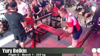 Yury Belkin - 1st Place Overall 1032.5 kg/2276.3 lbs Total - Boss Of Bosses 4