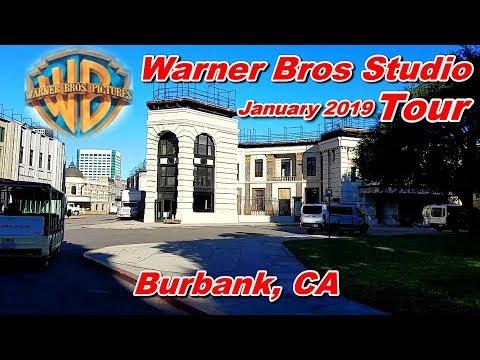 Warner Bros Studio Tour, Burbank, CA - January 2019