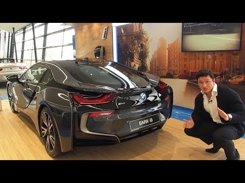 BMW i8 Coupe - FULL Review Exterior Interior Infotainment