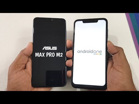 Asus Zenfone Max Pro M2 vs Moto One Power Speed Test & Ram Management Test