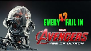 Every Fail In Avengers Age of Ultron | Everything Wrong With Age of Ultron, Mistakes and Goofs