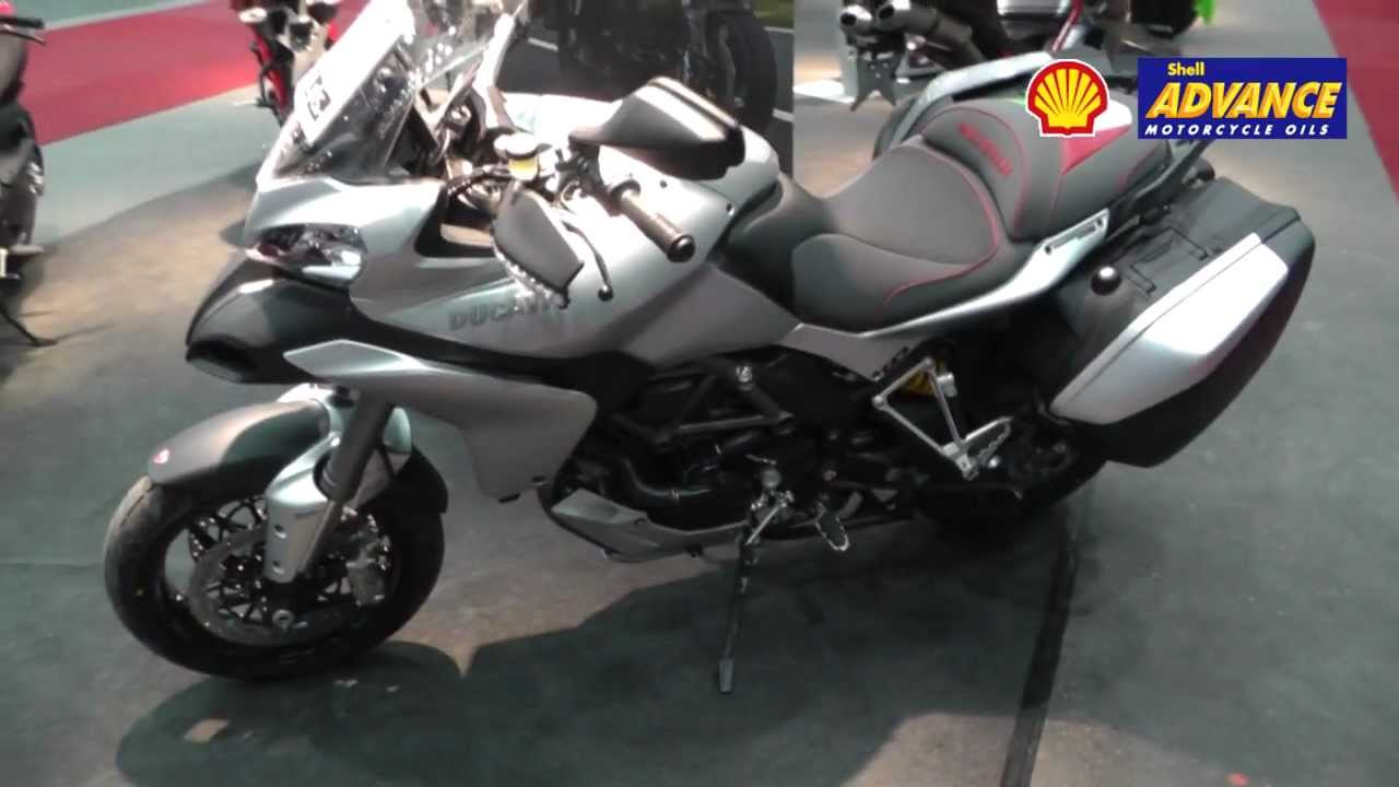 Ducati Multistrada 1200S Touring 2013 Bagster Sitzbank Skyhook in ...