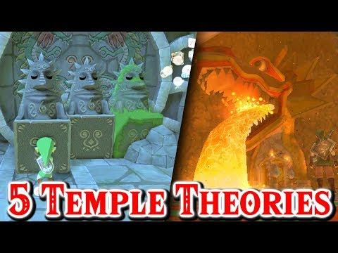 Top 5 Zelda Ocarina of Time Temple & Dungeon Theories