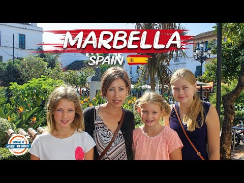 Marbella Spain in the Heart of the Costa Del Sol | 80+ Countries w/3 kids