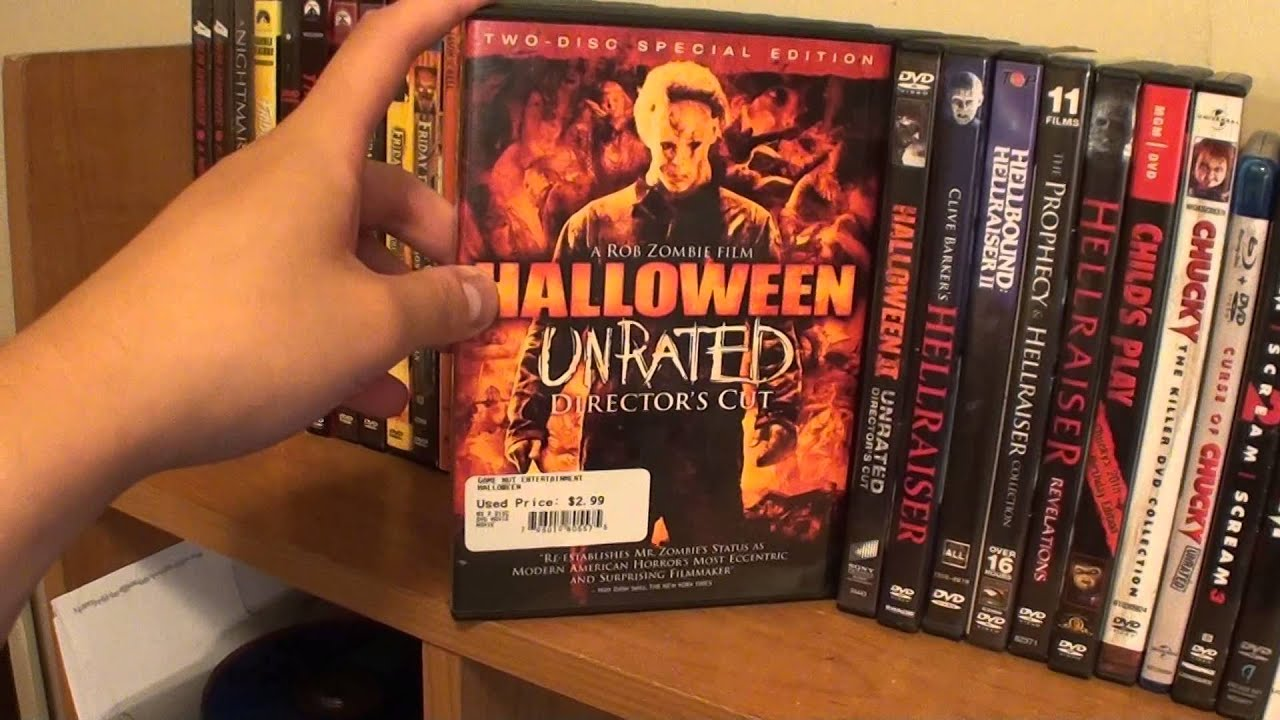 horror movie series collection halloween special youtube