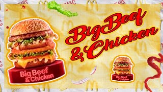 Baixar Experimentando: Big Beef and Chicken - Novos Bigs do McDonald's   Colornicornio