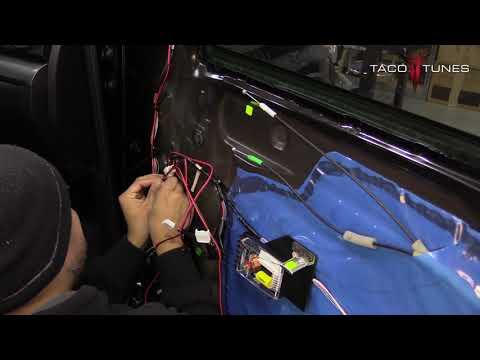 How To Install Component Speakers Toyota Tundra 2014 2020 TT65CS