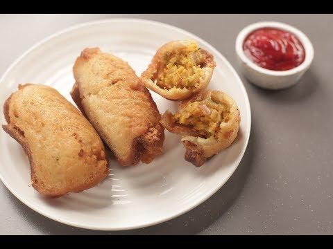 Bread Roll | Sanjeev Kapoor Khazana