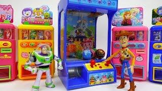 Poli Crane Machine and Vending Machines Someone Wish Me Luck Please