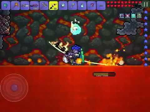 Terraria: Fishing In Hell