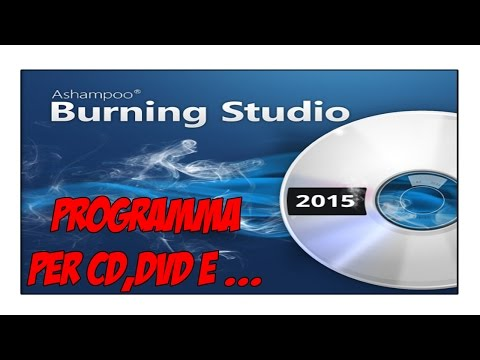 Il Miglior Programma Gratis per Masterizzare CD e altro ITA 2015