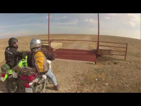 Dual Sport Ride Flint Hills Kansas Dec 2012