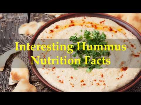 Interesting Hummus Nutrition Facts