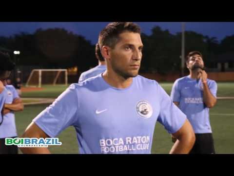 Practice and Post Interviews Boca Raton FC Vs. Uruguay Kendall