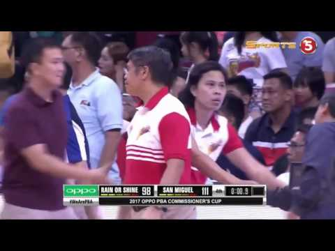 Gabe Norwood LOSES his COOL after the GARBAGE TIME three of Marcio Lassiter!