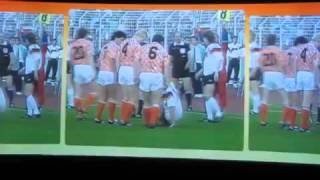 Voetbal Experience EK 1988 Nederland   Duitsland halve finale