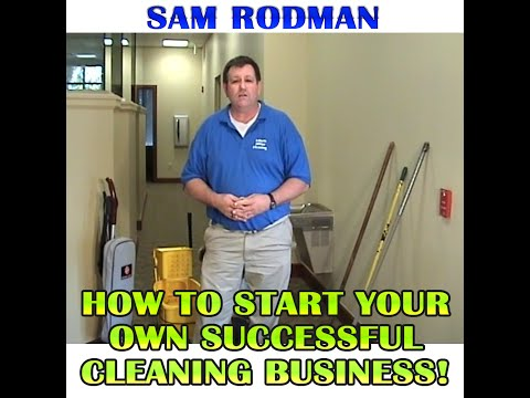 Sam Rodman - Instant Office Cleaning Kit - Sam Rodman FREE TIPS!