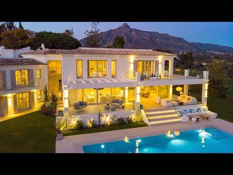 Luxury Contemporary Villa in Aloha Golf, Nueva Andalucia, Marbella, Spain | 6.995.000€