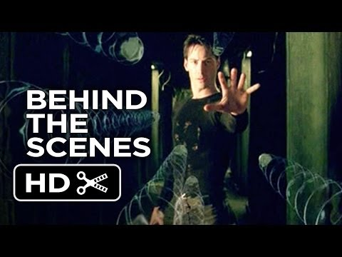 The Matrix Behind The Scenes - The Hallway (1999)  - Laurence Fishburne Movie HD