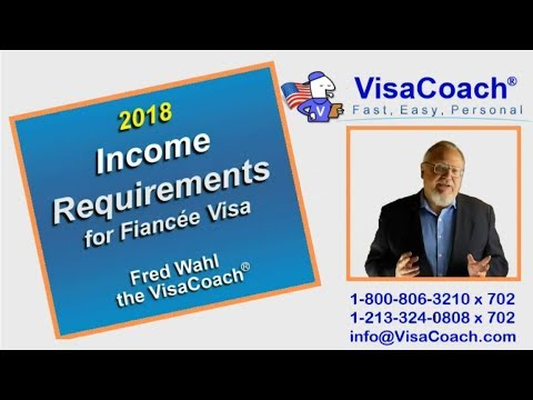 2018 Income Requirements For K1 Fiance Visa