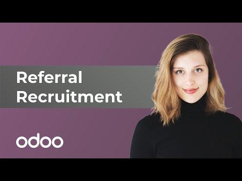 Referral Recruitment   Odoo Referrals