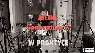 Paweł Ostrowski Meinl Generation X TEST