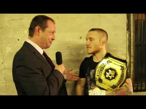 Post-Fight Interview with Bryan Creighton at GTFP 7
