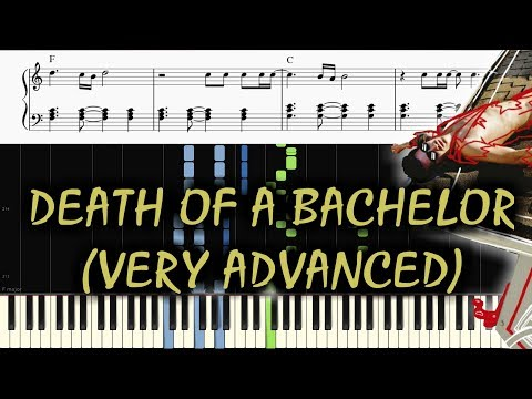 DEATH OF A BACHELOR 🎹 PANIC AT THE DISCO 🎹 ULTIMATE PIANO MEDLEY