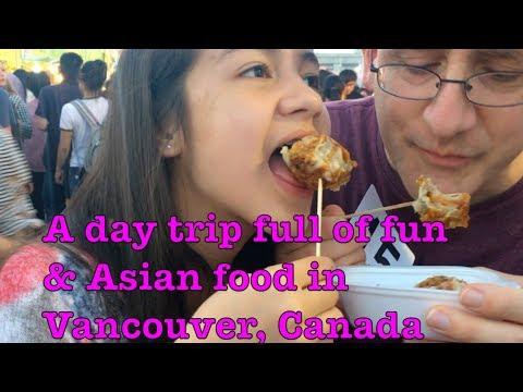 Vancouver, CA trip | Eating Lanzones & Atis | Fun at Stanley Park | Yummy Night Market Food