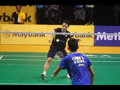 Malaysia Badminton Open 2015 Day 2 #9 MS Rd 1 (Chen Long vs Takuma Ueda)