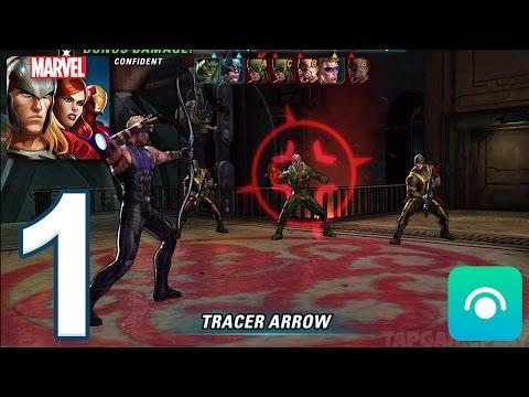 Marvel: Avengers Alliance 2 - Gameplay Walkthrough Part 1 - Tutorial (iOS, Android)