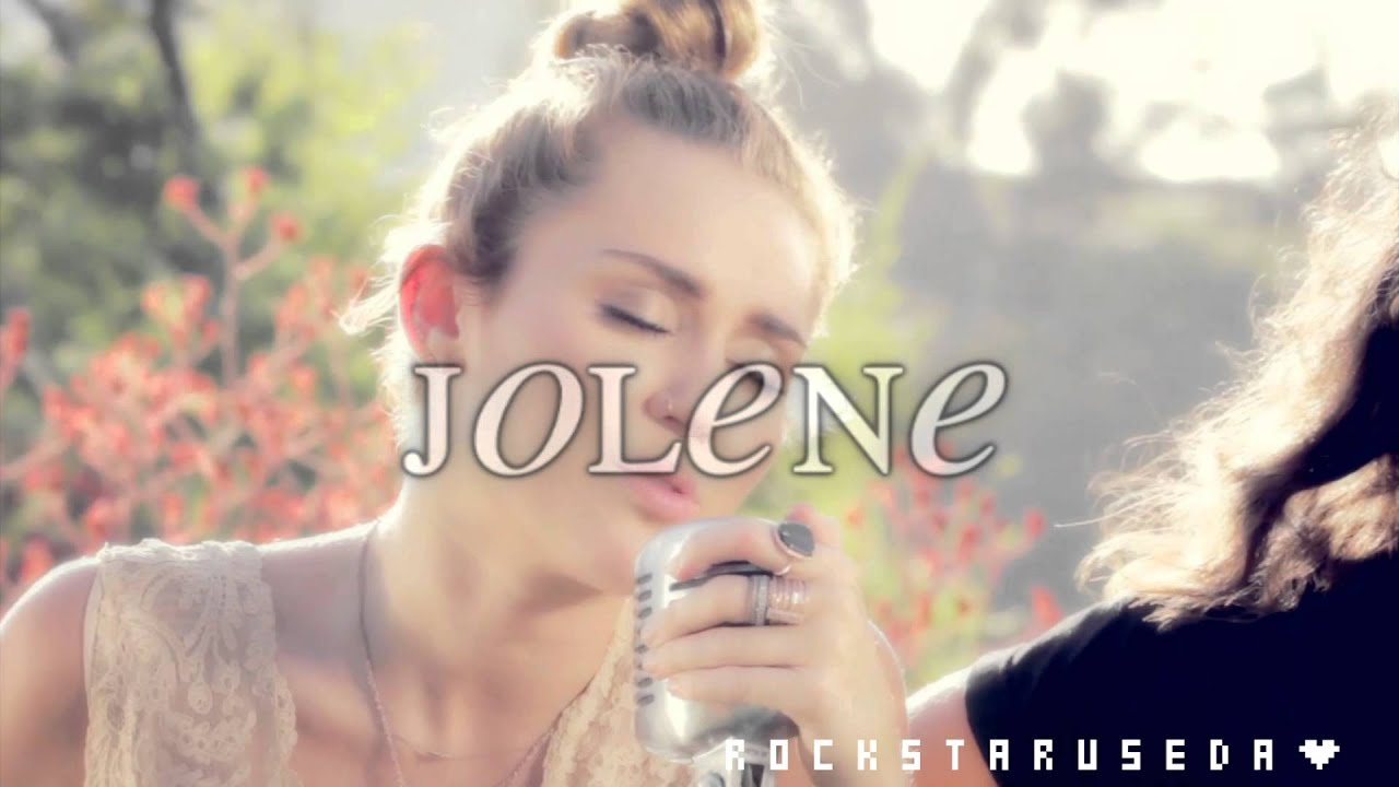 jolene miley cyrus en español youtube